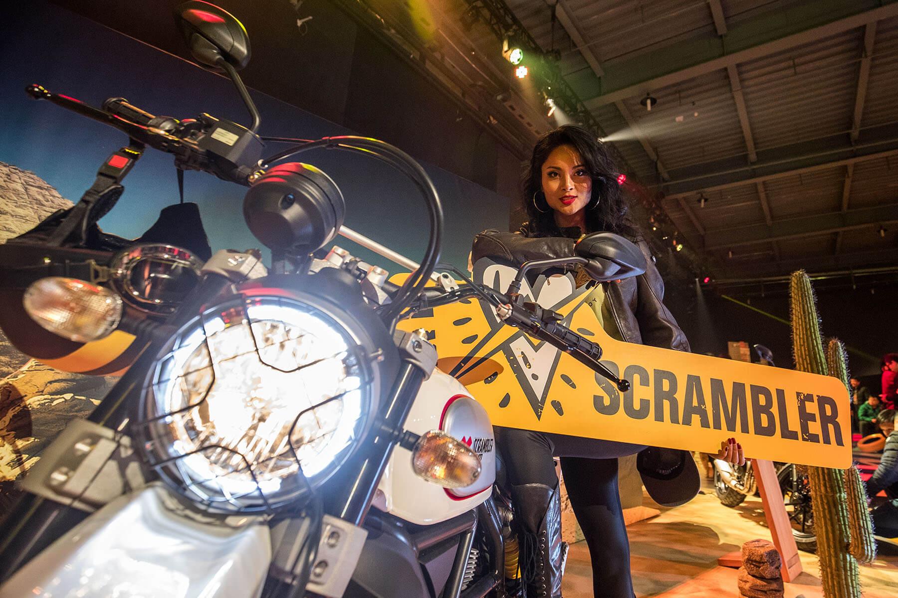 Ducati Scrambler 1100 Launch