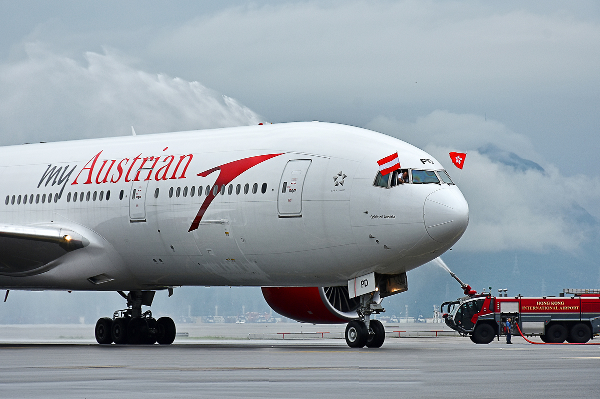 myAustrian Shanghai/Hong Kong to Vienna Direct Route Launch